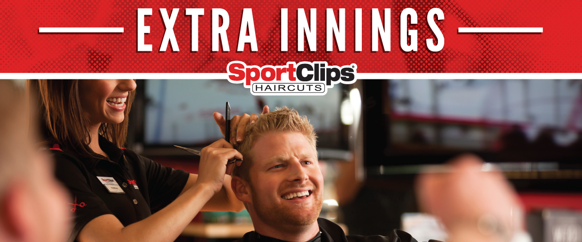 The Sport Clips Haircuts of Wesley Chapel Extra Innings Offerings
