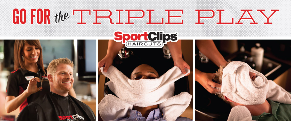 The Sport Clips Haircuts of Wesley Chapel Triple Play